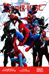 Spider Verse Poster by Mr-Psycho-Mate