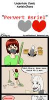 Undertale Comic Chasriel: Pervert Asriel by vanillaxbiscuit