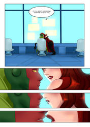 The Vision x Scarlet Witch Fancomic [Dull 2/3] by vanillaxbiscuit
