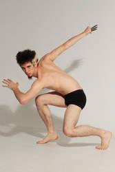 Ninja-pose for SenshiStock by DaeStock