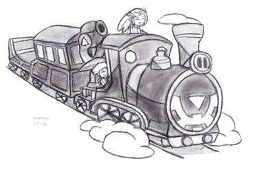 Riding the Spirit Train by DrChrisman