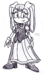 Vanilla the Rabbit by DrChrisman
