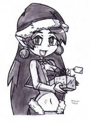 Christmas Shantae by DrChrisman