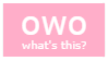 owo stamp by Zohto