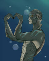 The Shape of Water by awkward-mollusc