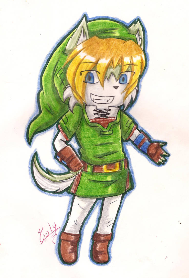 Link the wolf :3 by Yuly-Yanty