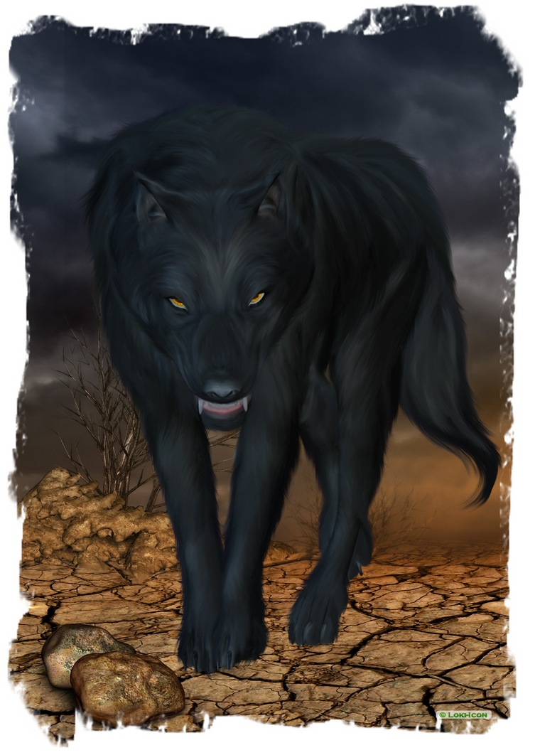 Black Wolf by Loki-Icon
