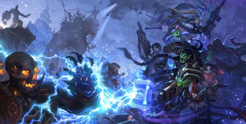 The new battlefield : northrend brawl by happykwak
