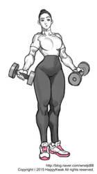 power girl by happykwak
