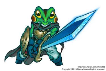 Chrono Trigger. Kaeru by happykwak
