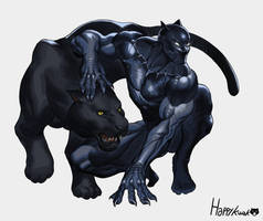 Black Panther by happykwak