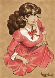 Princess maker Olive by happykwak