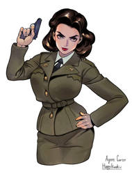 peggy carter _ Happykwak by happykwak