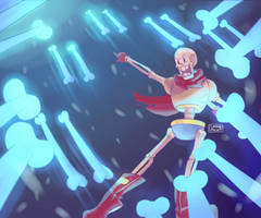 Papyrus Attack! by SylveonChan