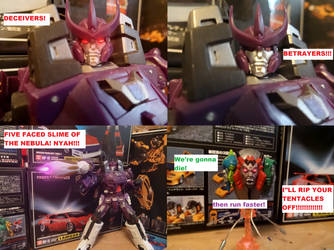 Galvatron is pissed by lovefistfury
