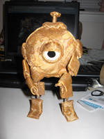Girl Genius Clank Plushie by Lady-Lorien