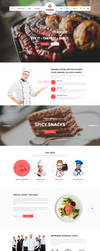 Foodz - Restaurant Joomla Template by templaza