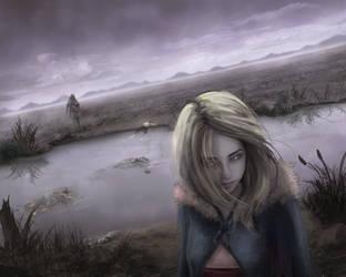 A girl by Skyrawathi