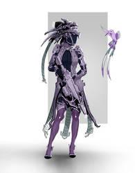 Coli - sci fi warrior by Skyrawathi