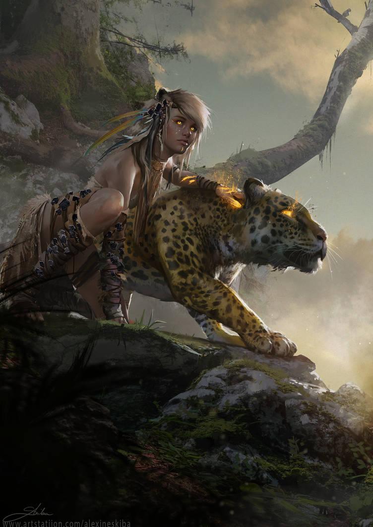 Jungle kitten by Skyrawathi