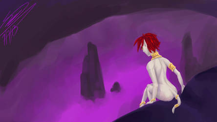 Cavern Cambion by CassiePens