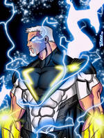 The new god of Thunder  by Azreal2156