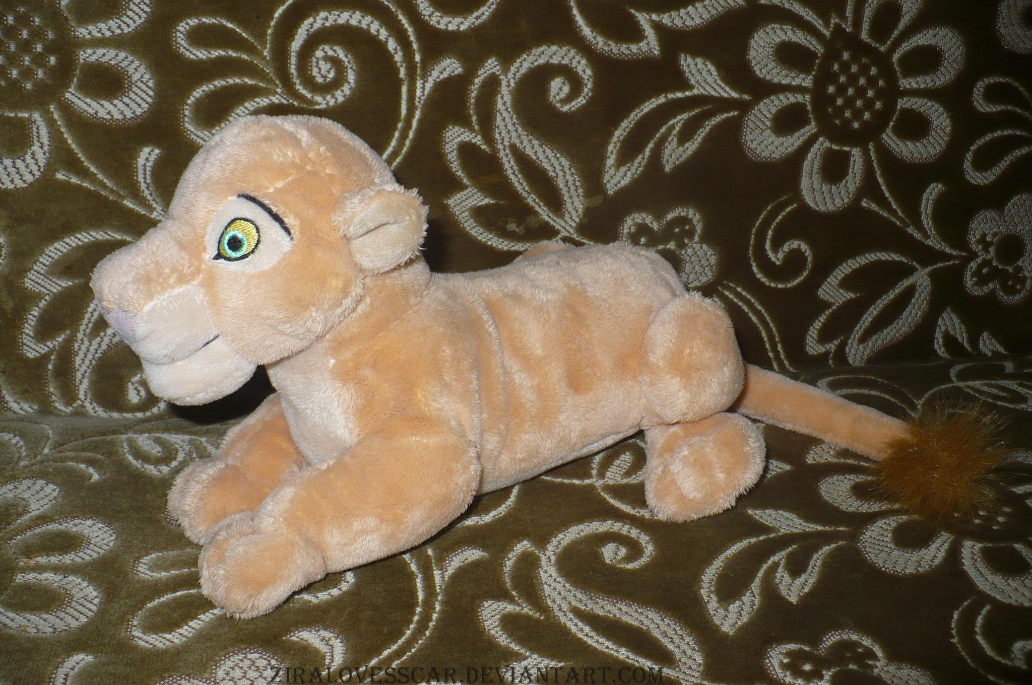 Nala Stuffed Animal Bean Bag By Ziralovesscar On Deviantart