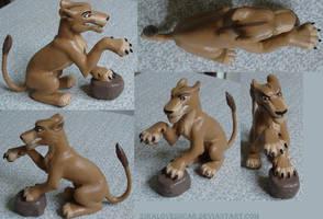 Zira figures by ZiraLovesScar
