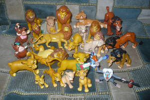 Figures The Lion King by ZiraLovesScar