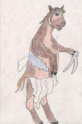 Princess Zelda turns into a Horse 3/5 by goodtimesroll44