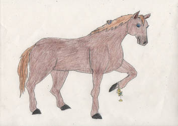 Princess Zelda turns into a Horse 5/5 by goodtimesroll44