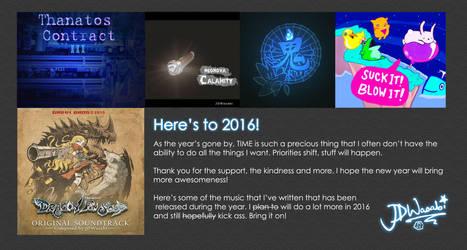 Goodbye 2015, Hello 2016 by JDWasabi