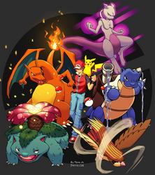Pokemon Red Tribute by DeiveEx
