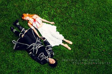 SAO-- Asleep on the Hill by StarsOfCASSiOPEiA