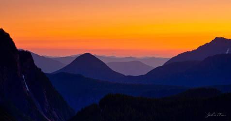 Endless Mountains by johnfan
