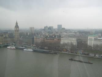 London from the Eye by TheDarkestNight51