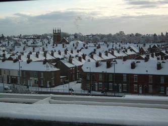 Town of Snow by TheDarkestNight51