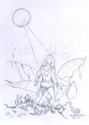 O Astronauta by jjmarreiro