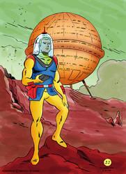 O Astronauta 01 by jjmarreiro