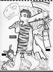 Primitive Mike by TYshangshan