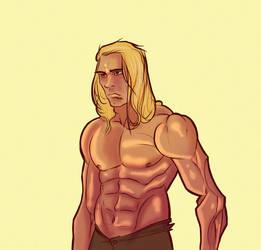 Tarzan Again by Nepath