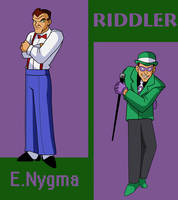 BM: TAS Riddler by emif