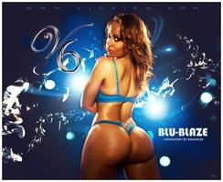 VICKIE6 - BLU BLAZE by rashad25