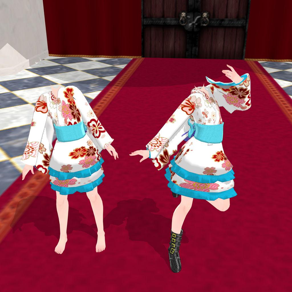 Tda preteen kimono white DL by Jadedalicorn