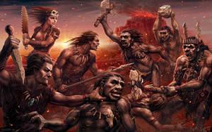 Mesolithic battle ver.2 by Lobzov