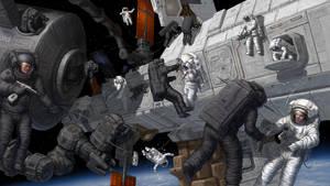 Space boarded by Lobzov