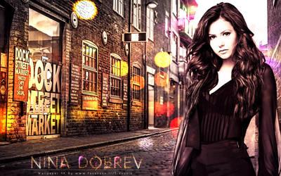 Wallpaper Nina Dobrev By Sd by sidouxie2014
