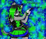 Makayla the Wolf by Lori-the-Wolf