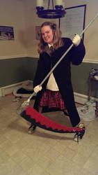 My Halloween Maka Cosplay by Lori-the-Wolf