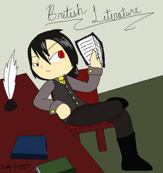 Brit Lit Teacher by PokreatiaForms
